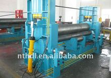 W11S sheet metal plate rubber rolling machine of three roller 20*2000