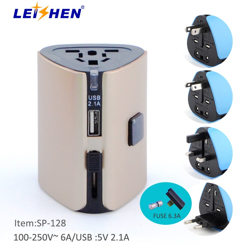 Universal Wifi Travel Adapter With Usb 2016