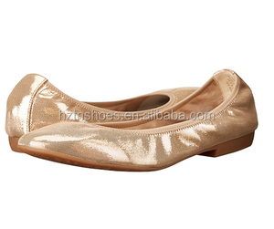 Foldable ballet shoe women Foldable ballrina shoe
