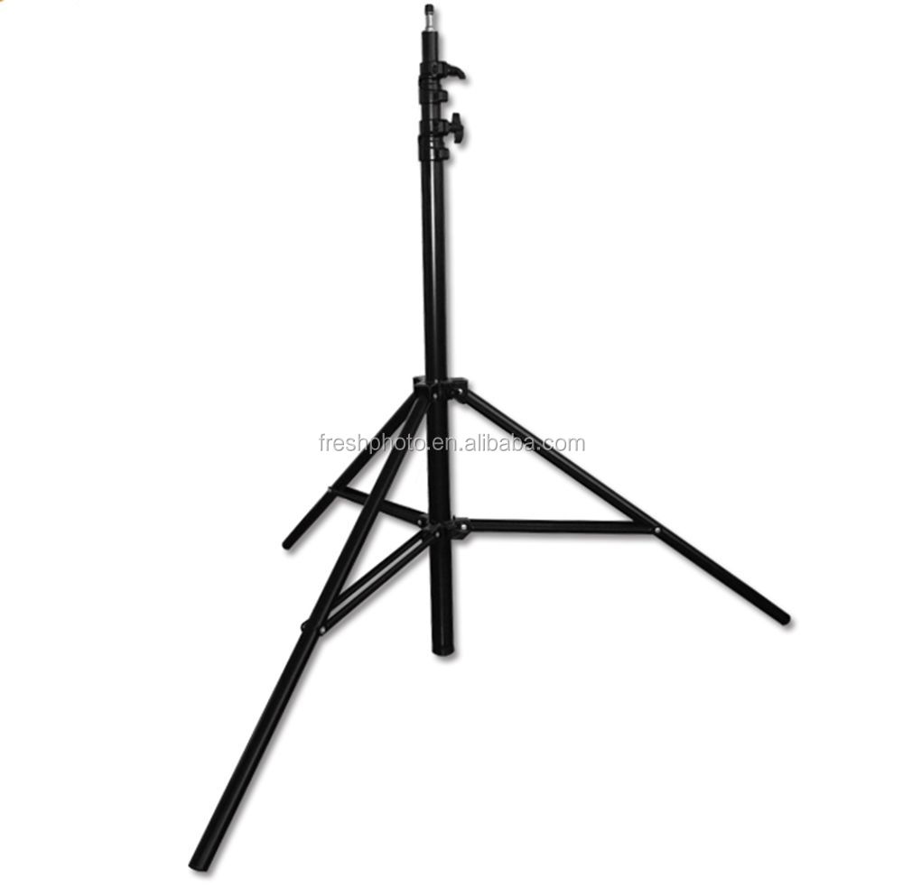 2.2m ordinary spring / air cushion iron light stand tripod for camera with 1/4 screw professional for photography lightings