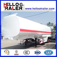 45000L fuel tanker semi trailer carton steel