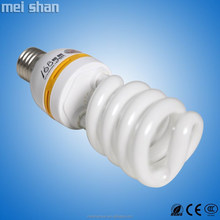 105w high power high lumen big half spiral light energy saving bulb