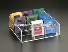 acrylic tea bag organizer
