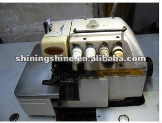large stock second hand 4 thread carpet overlock sewing machine