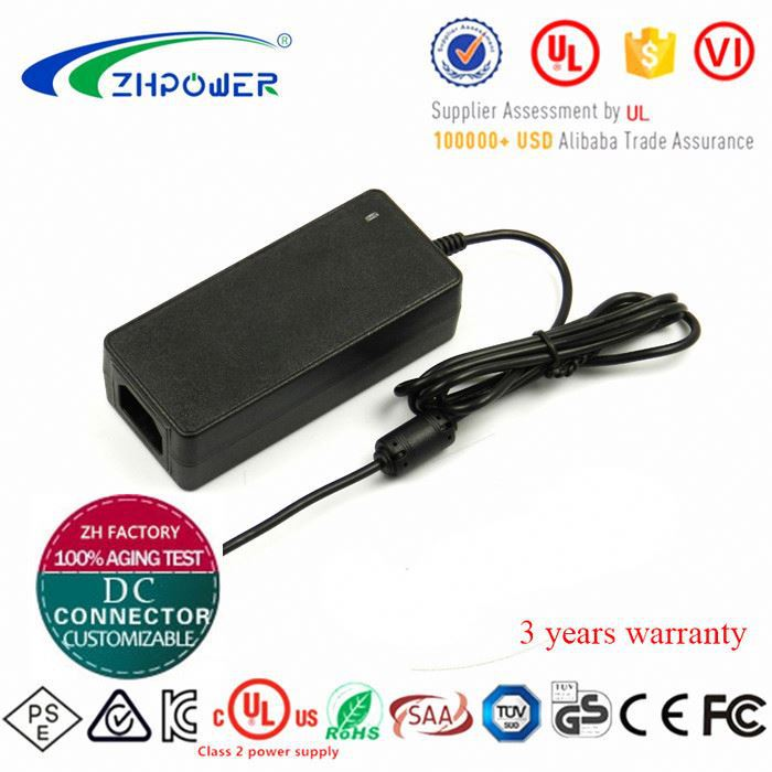 AC Adapter 12v 5.83a 70w desktop power supply with 1.2m dc cord and 5.5*2.1*10mm connector
