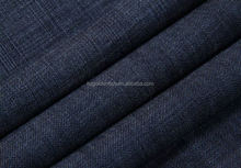 Super 120s 100% Worsted Wool men suit fabric