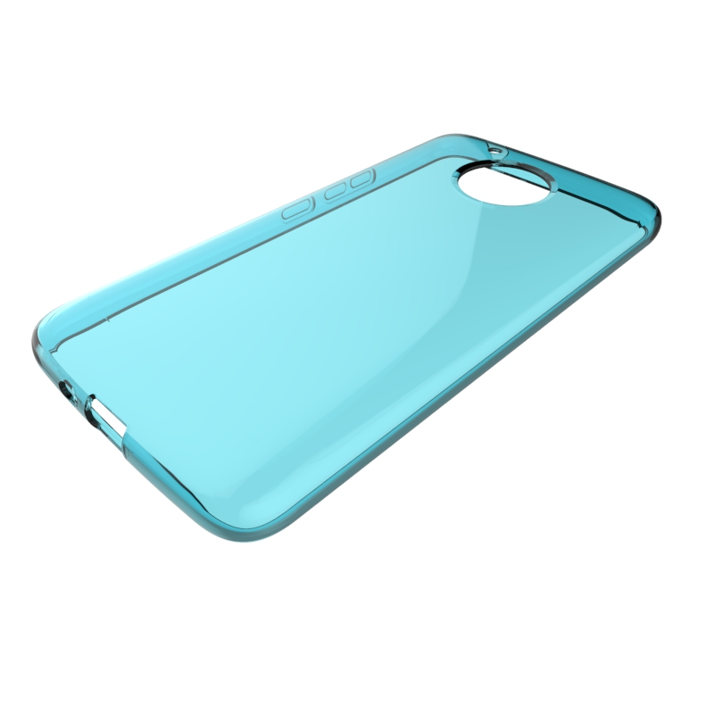 clear Transparent soft mobile phone case for MOTO E4 plus USA version tpu back cover