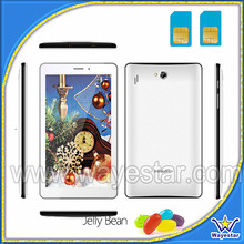 7 inch big screen telephone tablet wifi MTK6515