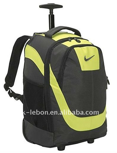 Fashion Hotsale Durable Rolling Laptop Backpack travel sport backpack