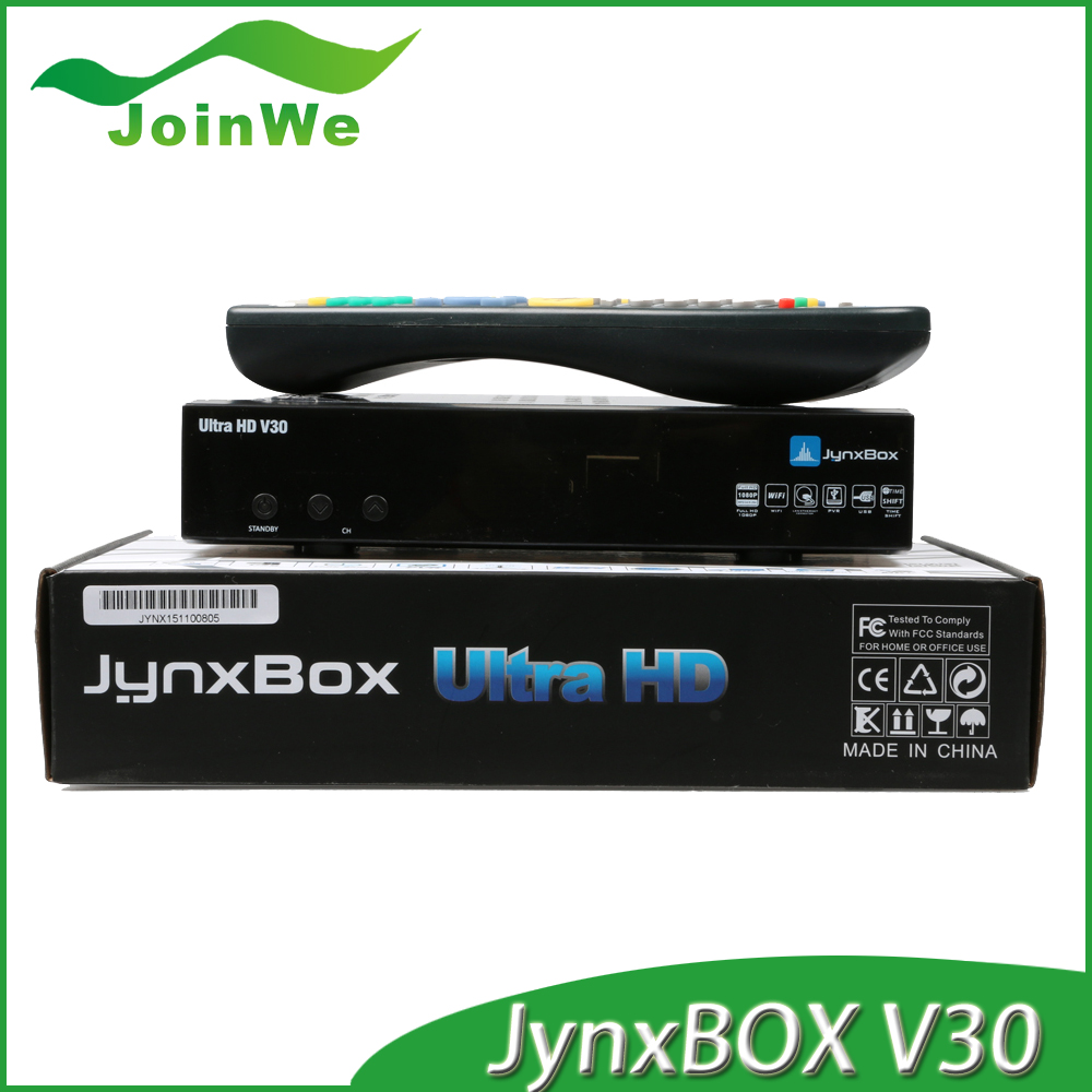 Jynxbox Live IPTV with DVB Android VOD WIFI ipremium AVOVBox Jynxbox v30