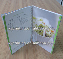 softcover recipes book printing