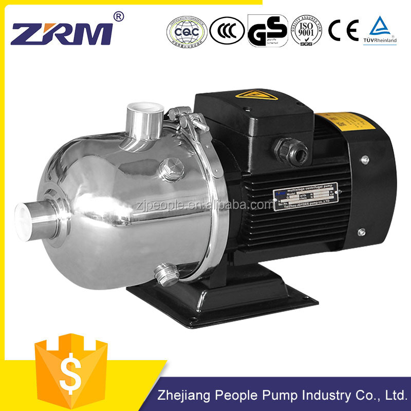 high flow rate horizontal multistage centrifugal pump