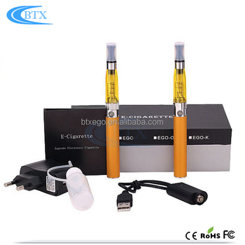 China factory Wholesale 1.6ml atomizer 1100mah 2.2ohm Ecig Battery ego ce4 blister kit e cigarette