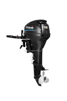 China 15 HP 4 stroke outboard motor for sale, Electric start remote control outboard motor for sale
