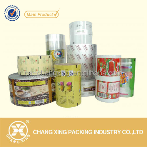 2016 new hot high barrier printed perforated laminated pe opp food packaging film rolls (up to 10 colors)