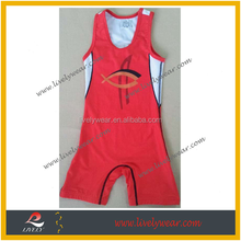 Custom full Sublimated Sleeveless Wrestling overall/ high quality quick dry fit wrestling wear with cheap price, no MOQ