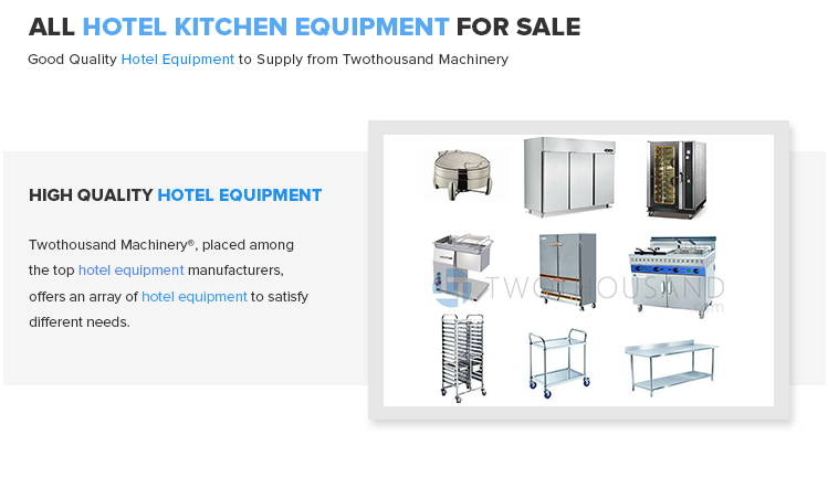 All Commercial Used Hotel Equipment And Hotel Kitchen Equipment For Sale!!!