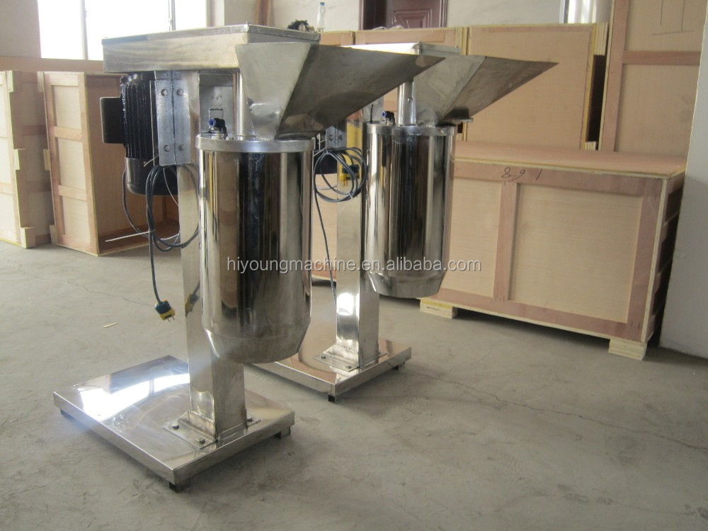 Stainless steel ginger garlic vegetable chopper/onion paste making machine