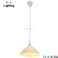 CE E27 Silicone drop ceiling light fixture for hotel lobby chandelier