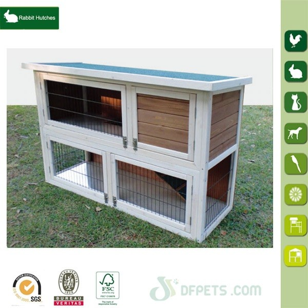Good Quality Wooden Rabbit House