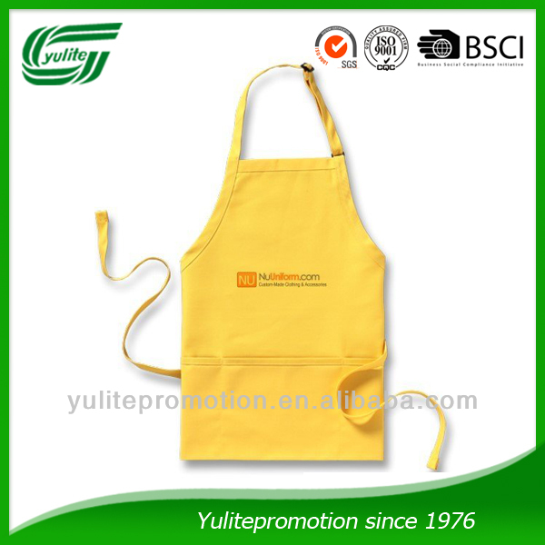 Adjustable Strapped Cotton Apron for Kitchen