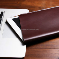 new arrival genuine leather tablet cover for apple ipad air 2