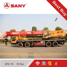 Factory direct sale 75Ton SANY Used Truck Crane