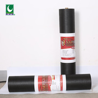 black asphalt waterproof sheet roofing paper material for walls with good quality