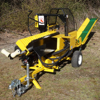 NEW type log splitter,automatic log splitter,firewood log processor