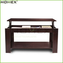 Lift Up Top Coffee Table with Hiden Drawer for Storage Homex BSCI/Factory