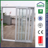 Customized UPVC China fuzhou sliding kitchen door design
