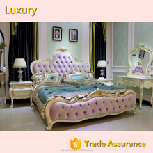Luxury classic design luxury bed room <strong>furniture</strong> bedroom set-DB01