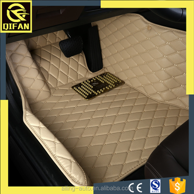 auto accessories 5d pvc leather car floor mats