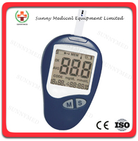 SY-G086 Medical blood glucose monitoring system glucometer rapid test