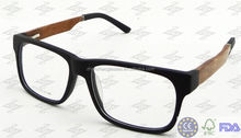High Class Eco-friendly Acetate Optical Glasses Fashion Wood Eyewear