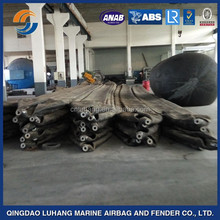 ship launching,lifting,salvage inflatable rubber airbag