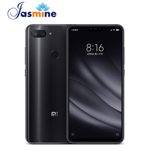 Dropshipping Original Xiaomi Mi 8 Lite 4GB 64GB Snapdragon 660 6.26&quot; AI 24MP Front Camera <strong>Android</strong> Mobile Phone