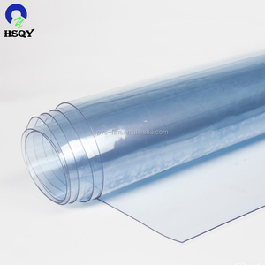 2017 New SOFT super clear PVC lamination film with high quality