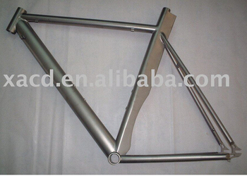 hot sale!!! customize titanium TT bike frame