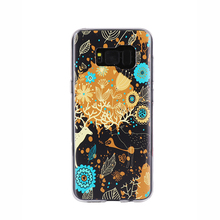 Beautiful mobile phone accesories cartoon tpu phone case for Samsung galaxy S8 plus
