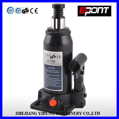 High Quality 4Ton Hydraulic Bottle Jacks with Safe Valve