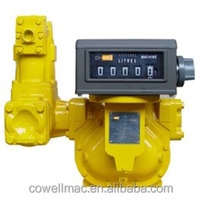 PD Flow Meter with mechanical register used in marine