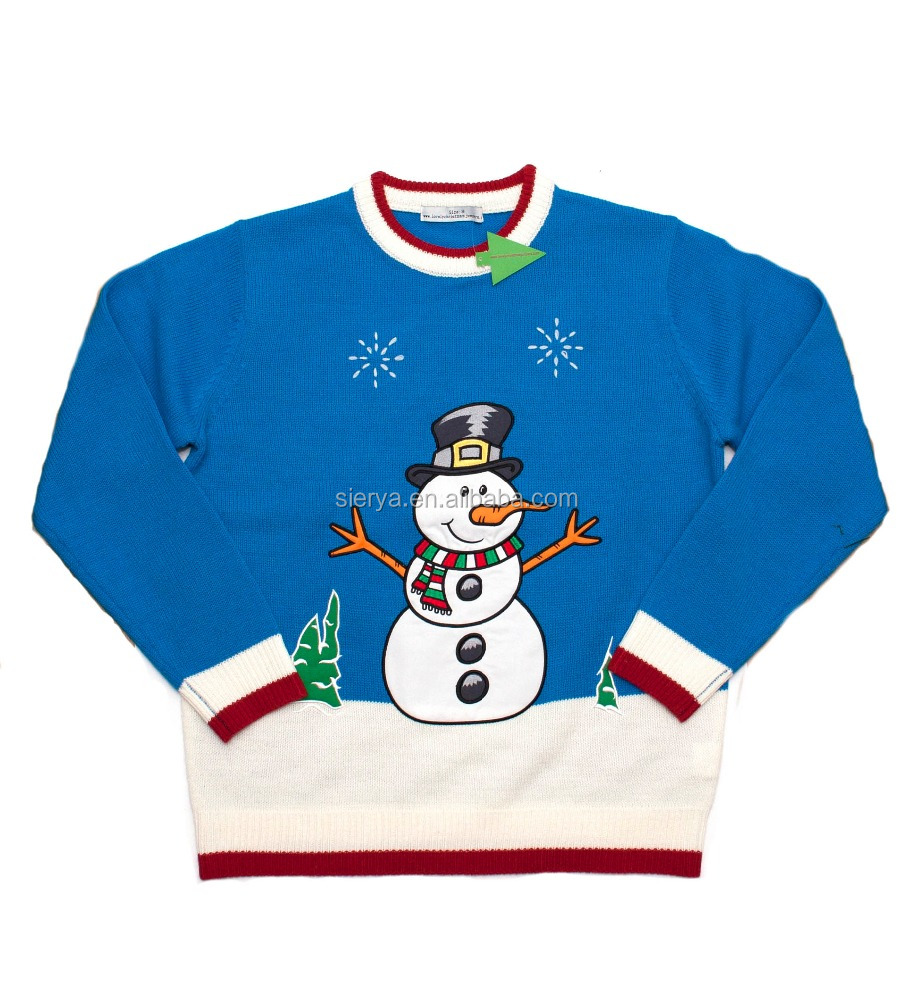 new fashion ugly christmas sweater