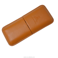 3 CT High Quality Well Market genuine leather cigar case