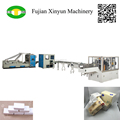High speed soft packing face tissue paper machine production line
