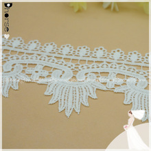 Top quality embroidery lace trimmings machine embroidery designs for wedding dresses wholesale
