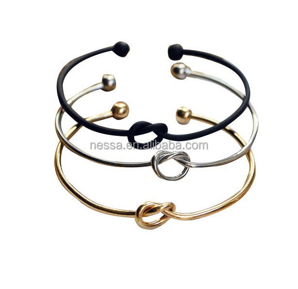 Rose Gold Silver Bracelet for Women Bangle Lover Bracelet Jewelry Stainless Steel Love Bracelet Bangle NSBG-0001
