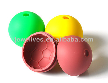 Best selling worldcup promotional sphere silicone ice ball moud
