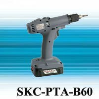 SKC-PTA-B60 18V Brushless Automatic Shut Off Cordless Screwdriver with 3.1Ah Li-ion Battery Set for auto assembly