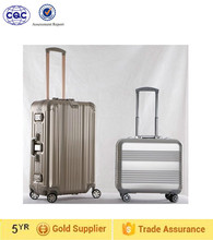 lightweight spinner travel luggage, aluminum travel trolley luggage